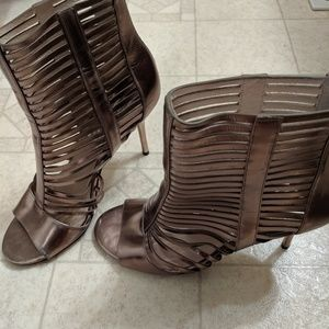Michael Kors high top stelleto heels